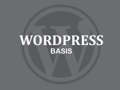 Basiscursus WordPress