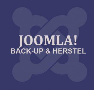Joomla Backup & Herstel