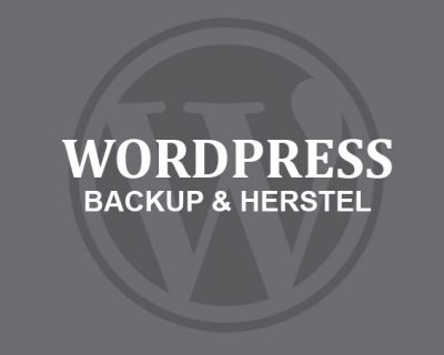 WordPress Backup & Herstel